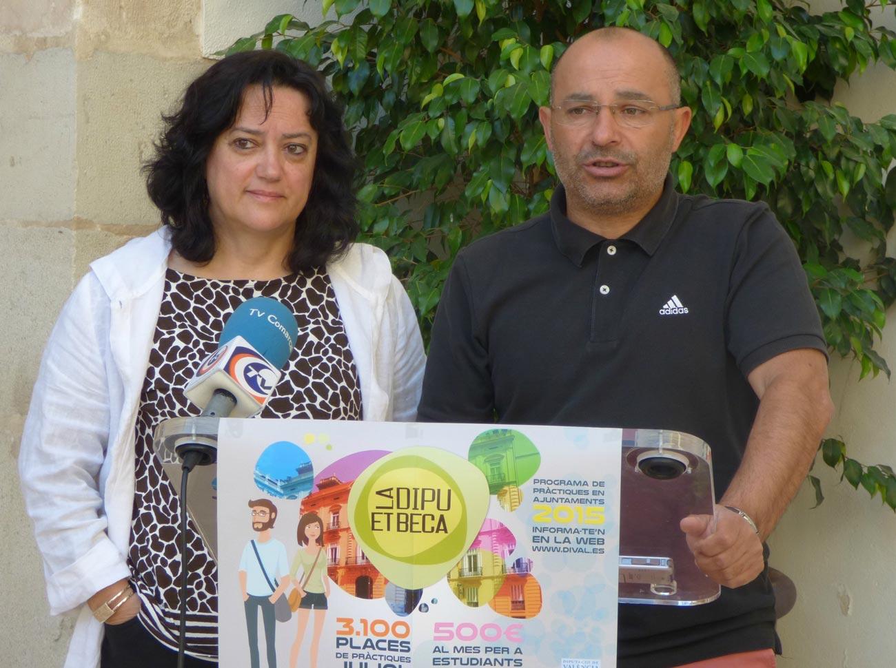 57 estudiants realitzaran pràctiques remunerades en estiu a l'Ajuntament d'Ontinyent