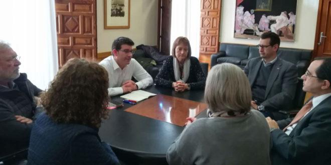 Jorge Rodríguez es reuneix amb els tres candidats al rectorat de la Universitat de València