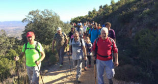 La serra de l'Ombria serà protagonista de les rutes senderistes d'Ontinyent i Fontanars