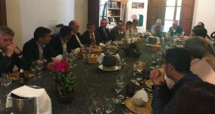 Trobada empresarial a Ontinyent amb el vicepresident de l'Agència Valenciana de la Innovació