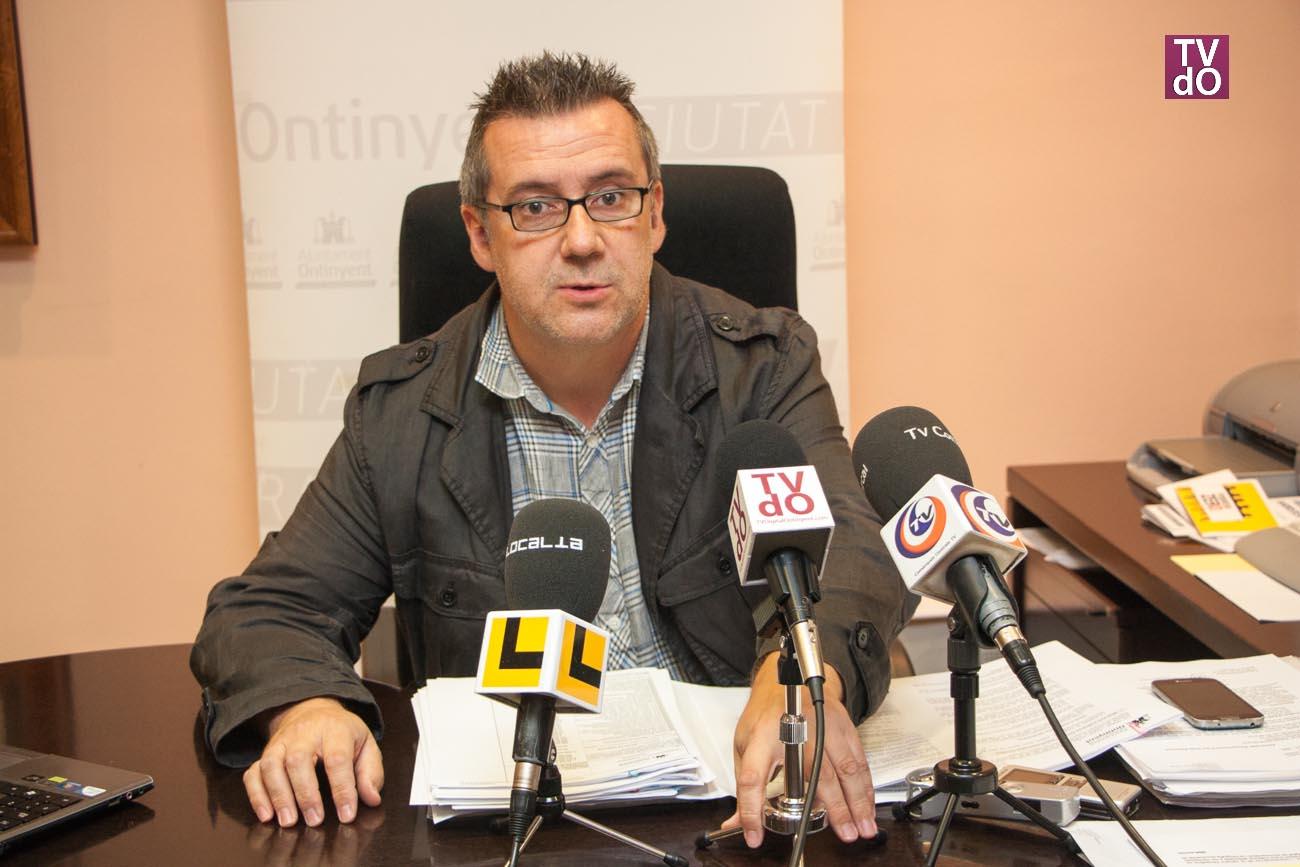 Joan Gilabert, regidor d'hisenda al ajuntament d'Ontinyent