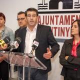 Jorge Rodríguez, Rebeca Torró, Joan Gilabert i Paula García e