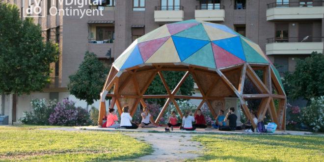 Es rehabilita la cúpula del Passeig de Benarrai