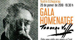 Concert solidari en  homenatge a l'artista Teodoro Valls